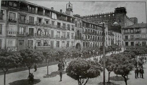 Plaza de Zocodover , Toledo, España, hacia 1890