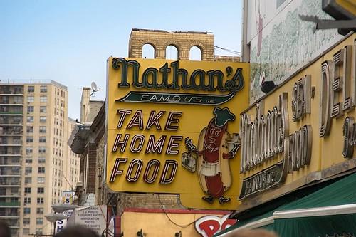 Nathan's Famous - Coney Island, Brooklyn, NY
