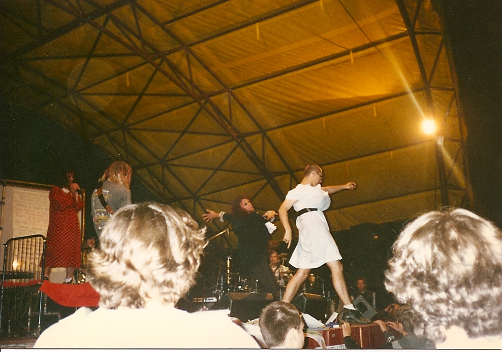 On Stage with NLM, Poland, 1996
