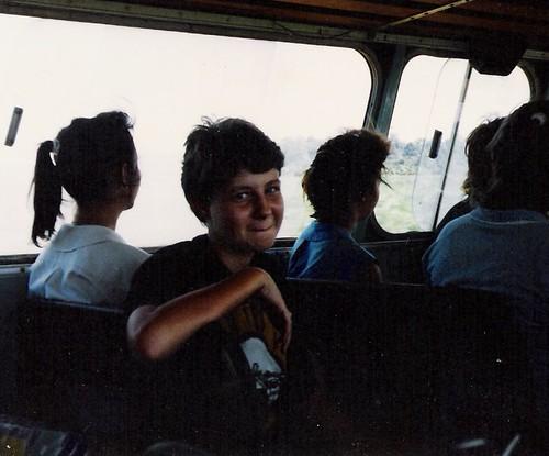 Such a tomboy! 1989