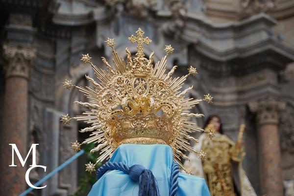 Corona de Nuestra Señora del Carmen. Murcia.
