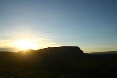 The next day... (Steffen und Christina) Tags: sun sunrise nt australia rays australien sonne sonnenaufgang sonnenstrahlen kakadunationalpark nothernterritory strahlen nourlangierock nawurlandja