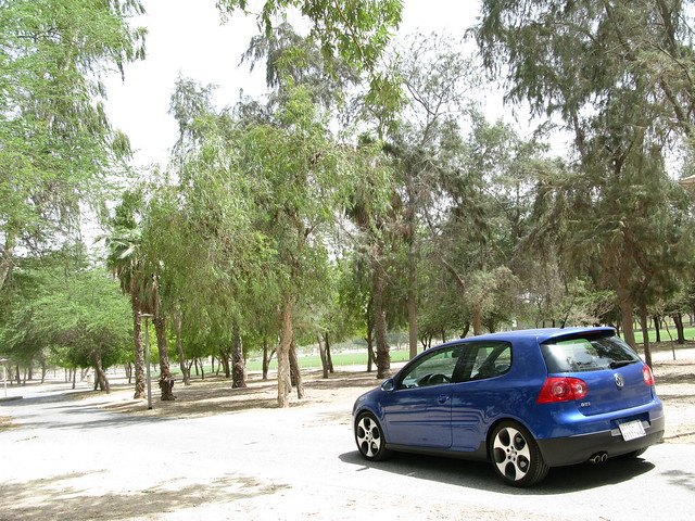 blue car sport vw canon golf volkswagen gti 2009 mkv g9 ???? hythem