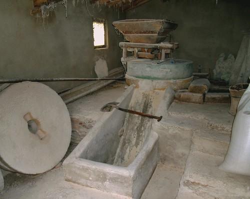 Molino de agua funcionando Cabañas de Aliste (Zamora)