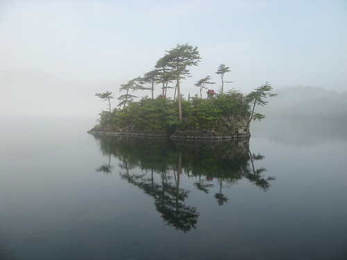 Misty Lake Towada