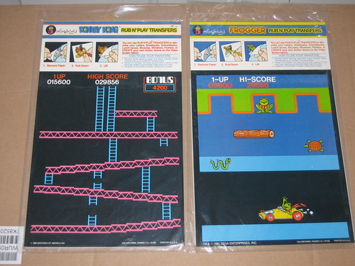 Donkey Kong and Frogger Transfers