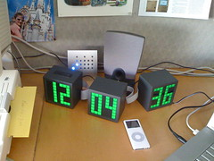 sweet ThinkGeek LED clock
