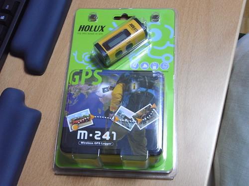 Holux M-241 パッケージ