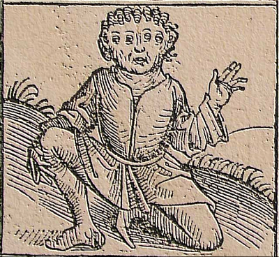 Nuremberg Chronicle, Strange People, Four Eyes, 1493