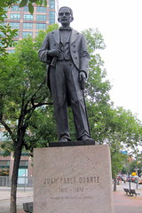 NYC - SoHo: Duarte Square - Juan Pablo Duarte statue by wallyg, on Flickr