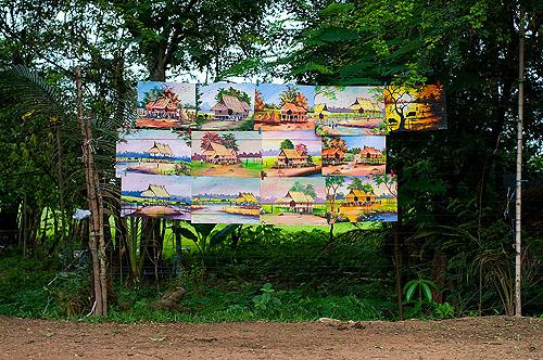 Landscape, Vientiane, Laos