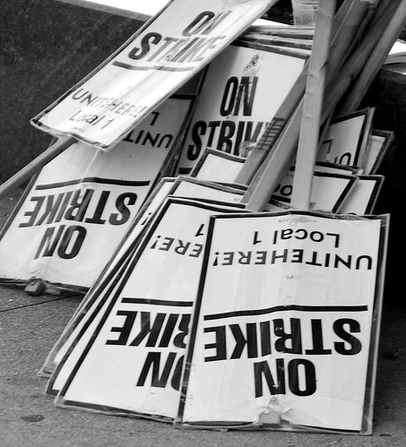 """On Strike Signs"""