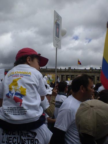 Marcha 20 de julio - Plaza de Bolívar