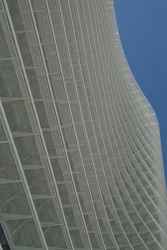 torre del agua expo zaragoza julio
