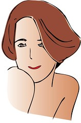 Woman2.jpg (davidcoxon) Tags: illustration icons clipart logos