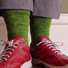 Farfalle socks 3
