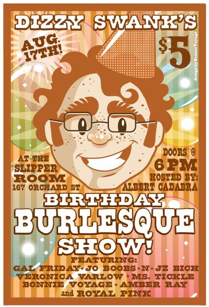 Burlesque Birthday