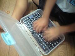 ThinkPadキーボード搭載カズマ専用パソコン