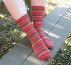Felici socks - finished!