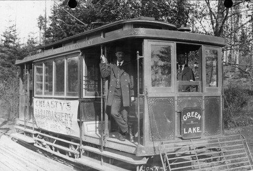 Green Lake trolley, 1896