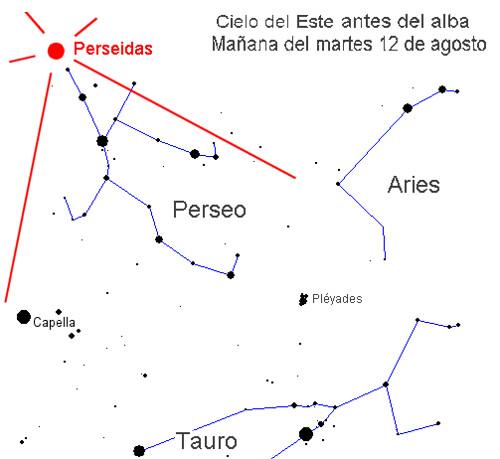 Lluvia de Meteoros Perseidas 12 de Agosto 2010 image