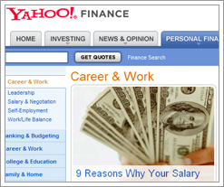 Yahoo Finance - 9 Reasons Why Your Salary Isn't higher