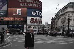 new season (pedra silvo !) Tags: man london picadilly advertise