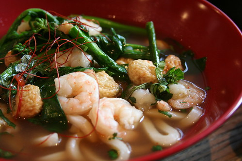 Shrimp Udon at Urban Belly, Chicago