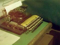 Scorpion typewriter