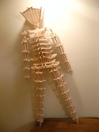Balsa Man Build - together