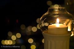 Positano Lights (Federico Alberto) Tags: italy lights luces italia candle bokeh olympus desenfoque positano e3 nophotoshop vela supershot nohdr olympuse3 leicad25mm