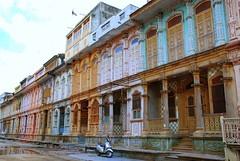 Siddhpur  Bohrawads ! (Shweta Wadhwa) Tags: street travel india heritage architecture colorful vibrant unique streetphotography mansion faade gujarat haveli bohra d80 siddhpur betterthangood bohravad