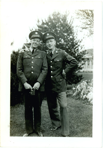 two guys in uniform