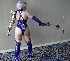 Ivy Valentine - Back (BelleChere) Tags: costume cosplay ivy soulcalibur dc08 dragoncon2008 ivyvalentine