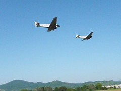 2 Ju 52 passing by (Ginas Pics) Tags: club gliders bensheim ju52 travelphotography gettyimagesgermanyq1 gettyvacation2013