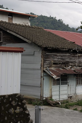 This somewhat dilapidated house on a sidestreet looks like it probably dates from the Japanese period.