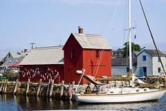 Motif #1 (Laura James) Tags: water ma fishing rockport buoyant redmotif1