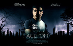FaCe / oFF ... (Bally AlGharabally) Tags: wallpaper movie poster design photographer designer kuwait rai bally abdulla guccino gharabally ashkanani algharabally