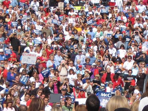 Sarah Palin Carson CA 2