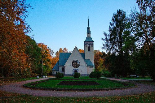 The Luteran church. Zelenogorsk (Terijoki)