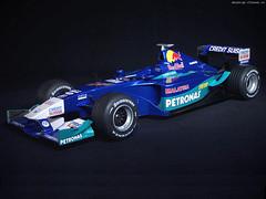 Sauber Petronas (RoseSurfinia4480) Tags: old car team petronas sauber