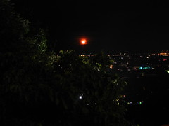 2007 07 01 - 0591 - Graz - View from Schlossberg (thisisbossi) Tags: moon night austria sterreich graz moonillusion