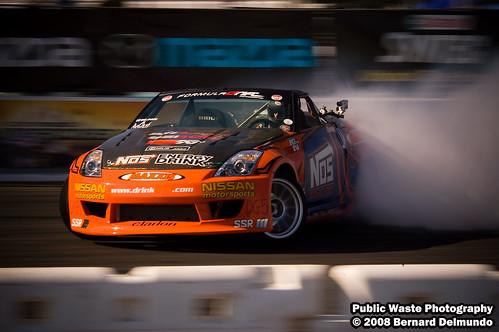 Chris Forsberg @ Formula D Round 7