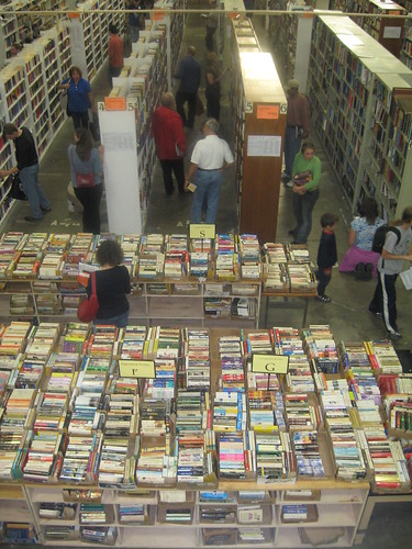 Friends of the Thompkins County Library Booksale, Ithaca, N.Y.
