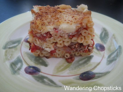 Pastitsio (Greek Lasagna) With Greens