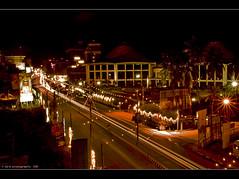night shot (Diji's Photography) Tags: longexposure travel light india tourism festival night canon eos experiments nightshot festivals sigma dslr karnataka 18200 southindia mangalore dfc dassara diji indianstreetphotography 400d experimentswithlight canon400d malayalikkoottam dijisphotography dakshinkannada