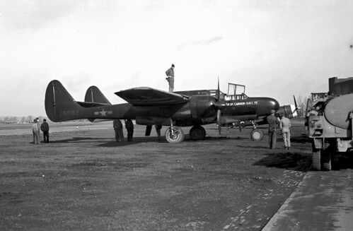 P61 Black Widow, AAF