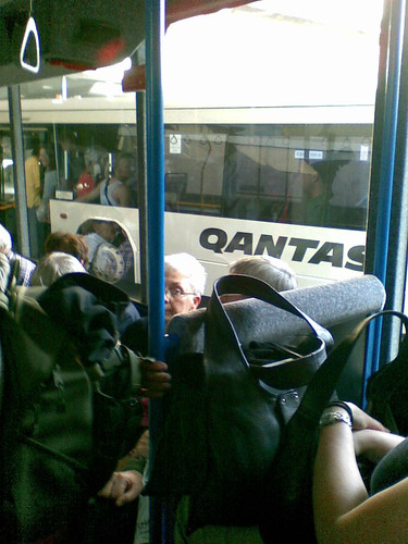 Qantas bus transfer