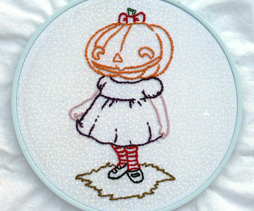 WiP: Creepy Pumpkin Girl