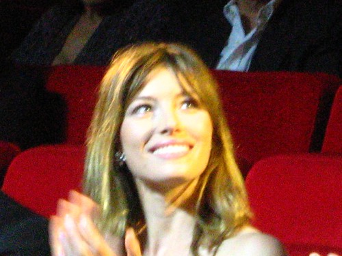 Jessica Biel at the Rome Film Festival